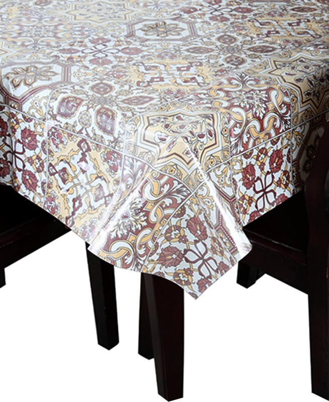 KAYYO Abstract 4 Seater Table Cover ROYAL