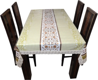 Prime Printed 6 Seater Table Cover(Multicolor, PVC)