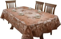 The Fancy Mart Floral 6 Seater Table Cover(Multicolor, PVC)