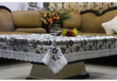 Kuber Industries Abstract 6 Seater Table Cover