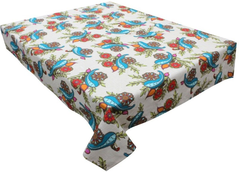 Adt Saral Printed 4 Seater Table Cover Happy Dinning