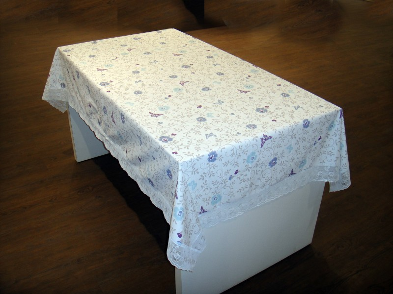 Freelance Floral 6 Seater Table Cover Flannel Table Cover 60 x 90