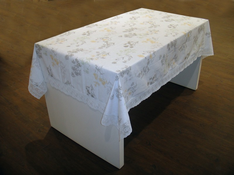 Freelance Floral 4 Seater Table Cover Flannel Table Cover 54 x 78