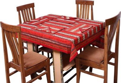 Chhipa Prints Floral 8 Seater Table Cover