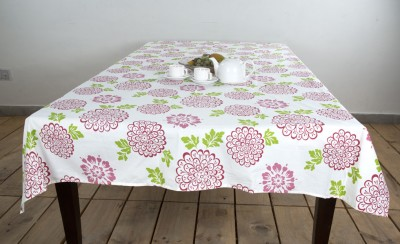 Ocean Collection Floral 6 Seater Table Cover