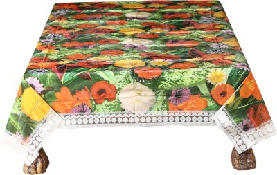 Ocean Home Store Floral 6 Seater Table Cover
