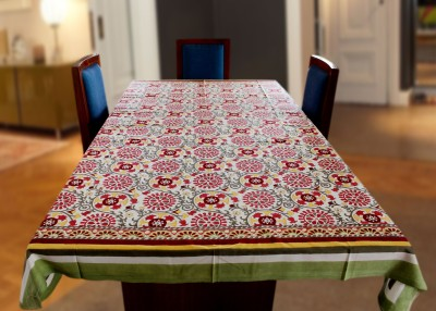 Coco Bee Floral 6 Seater Table Cover
