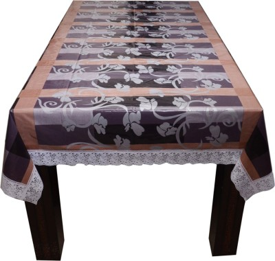 Prime Printed 4 Seater Table Cover(Multicolor, PVC)
