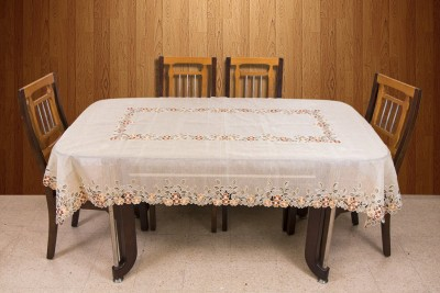 Azalea Floral 8 Seater Table Cover(Multicolor, Organza) at flipkart