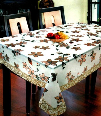 KS INDUSTRIES Floral 6 Seater Table Cover