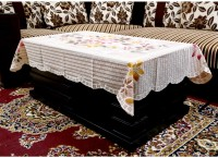 62015455e32 Kuber Industries Designer Dining Table Cover 6 Seater Cream Cloth ...