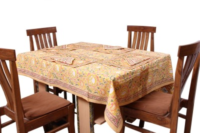 Chhipaprints Printed 6 Seater Table Cover