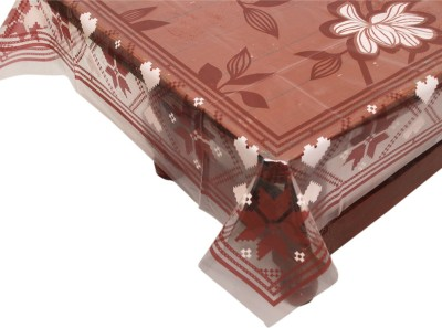 E-Retailer Printed 6 Seater Table Cover(White, PVC) at flipkart