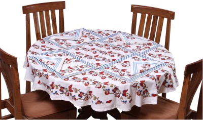 Chhipa Prints Printed 4 Seater Table Cover