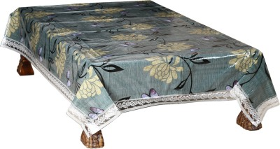 Nitin traders Solid 6 Seater Table Cover
