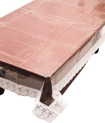 E-Retailer Solid 6 Seater Table Cover(White, PVC) at flipkart