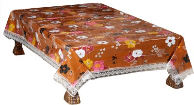 Nitin traders Floral 6 Seater Table Cover