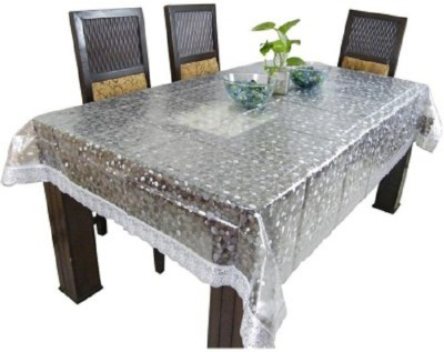 Shivkirpa Striped 4 Seater Table Cover