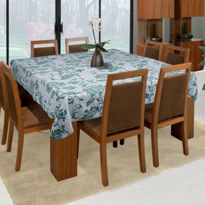 Bhavya International Floral 8 Seater Table Cover