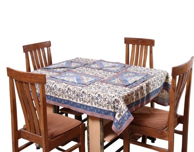 Chhipa Prints Printed 6 Seater Table Cover