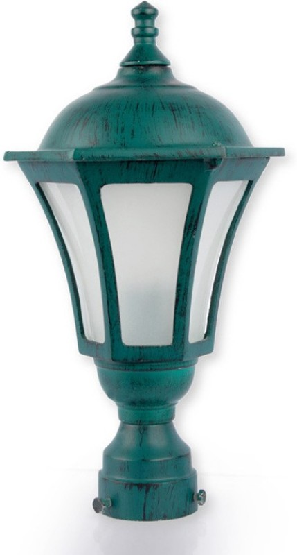 Fos Lighting Classic Antique Green Night Lamp(38.1 cm, Green)