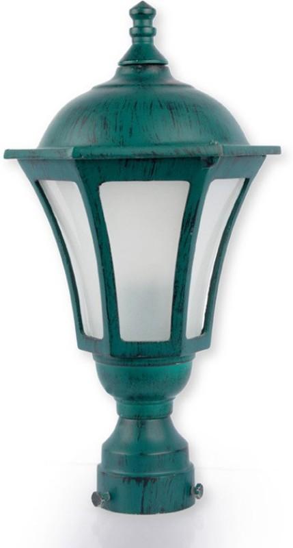 Fos Lighting Classic Antique Green Night Lamp(38.1 cm, Green)