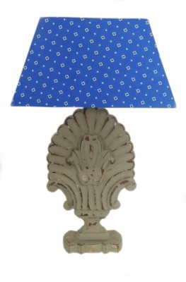 The Decor Mart Office and Home Table Lamp(28 cm, Blue)