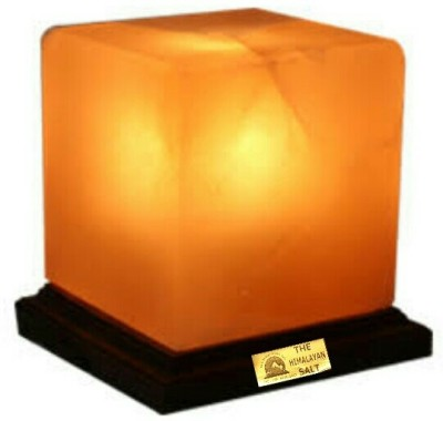 THE HIMALAYAN SALT cube shape Table Lamp