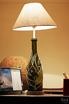 Kavi The Poetry Art Project Birdie Table Lamp