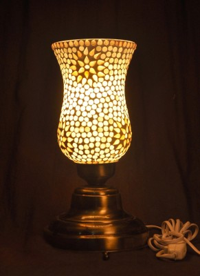 Gojeeva Antique Mosaic Work Decorative 17 Table Lamp