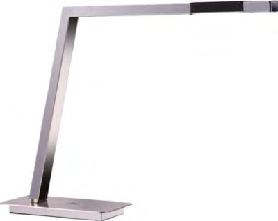Interiu Chrome Finish LED Table Lamp