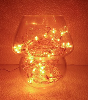 BARISH CLEAR YELLOW Night Lamp
