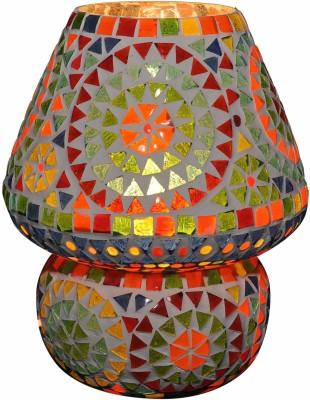 Gojeeva Multi Mussaic Med Table Lamp