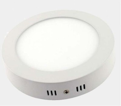 Glitz Led Surface Panel, Round Style, Cool white 6500k, with IC Driver (18.00 Watts) Night Lamp