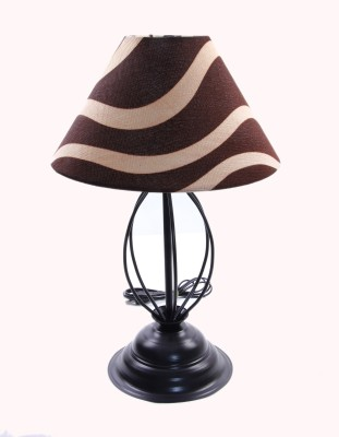 Flashh Strings Black 7 Table Lamp