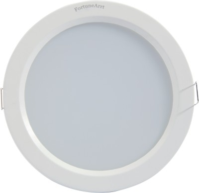 FortuneArrt 20 Watt Round LED Down Light (Warm White) Night Lamp