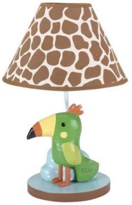 Lambs & Ivy Peek A Boo Jungle with Shade and Bulb Night Lamp