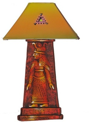 Kalaplanet Handpainted - Egyptian Guard Table Lamp