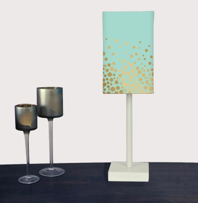 Nutcase Mint Gold Table Lamp