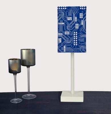 Nutcase Circuit Board Blue - Geeks Only Table Lamp