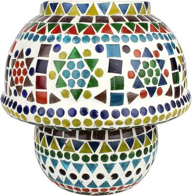 EarthenMetal Handcrafted Mosaic Style Table Lamp