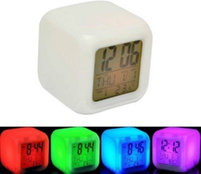 Tuzech 7- Colour Changing Led Cube Table Lamp