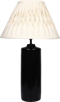 The Decor Mart Black Ceramic Table Lamp