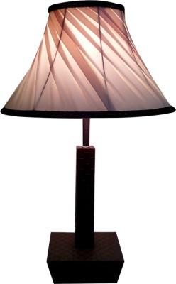 Diya Designs Leather Finish Table Lamp