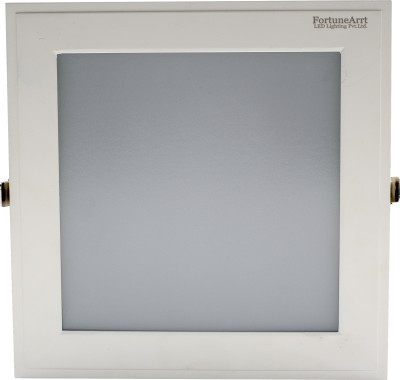 FortuneArrt 18 Watt Square LED Panel light (Mid White) Night Lamp
