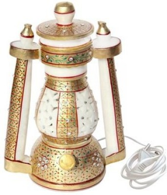 Handicrafts Paradise Cut Work Lantern Table Lamp