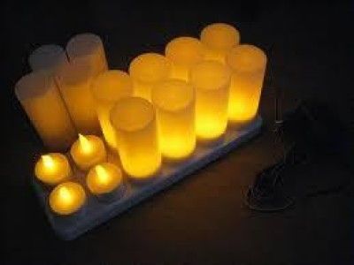 iLED 1 CL01 - Rechargeable Candle Light Table Lamp
