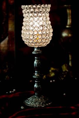 Homesake Regal Crystal 17 Table Lamp