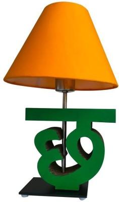 Sylvn studio Cheerful CHH letter lamp Yellow Table Lamp