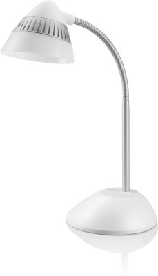 Philips Cap LED Desk Light Table Lamp(37 cm, White)